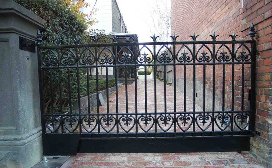 Heritage Wrought Iron Gate
